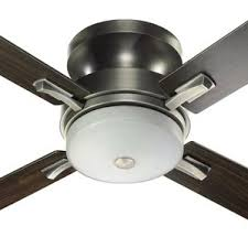 Brushed Nickel Ceiling Fan With Gray Blades by Weathered Grey Ceiling Fan Wayfair