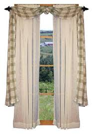 Breathtaking Country Style Curtain Rods Window Treatment Primitive Curtains Rustic Best Treatments Ideas On W