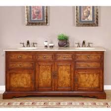 72 Inch Double Sink Bathroom Vanity by Silkroad Exclusive Pomona 72 Inch Double Sink Bathroom Vanity