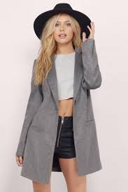 grey coat collared coat light grey coat 45