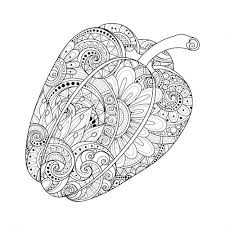 Fantasy Pepper Coloring Page
