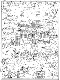 Welcome To Dover Publications From Creative Haven Winter Wonderland Coloring Book