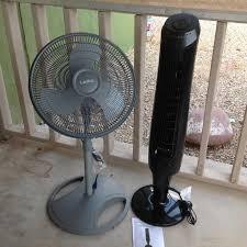 Lasko Floor Fan Home Depot by Lasko Adjustable Height 16 In Oscillating Pedestal Fan 2524 At