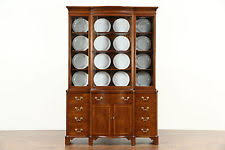 Breakfront Vs China Cabinet by Vintage China Cabinet Ebay
