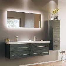 badezimmer set anthrazit gemasert miramar 02 140cm doppel waschtisch