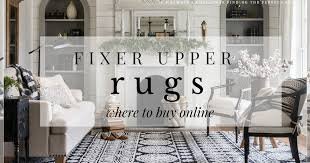 5 Favorite Fixer Upper Rugs