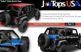 JTopsUSA, Jeep Shade Tops, Storage Boots, Tonneau Covers, Headliners ...