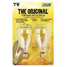 feit 7 watt vintage st12 candelabra base incandescent light bulb