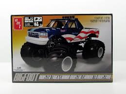 AMT 668 Bigfoot Ford Monster Truck 1/25 New Truck Model Kit - Shore ... Amazoncom Hot Wheels Monster Jam 124 Scale Dragon Vehicle Toys Lindberg Dodge Rammunition Truck 73015 Ebay Hsp Rc 110 Models Nitro Gas Power Off Road Trucks 4 For Sale In Other From Near Drury Large Rock Crawler Rc Car 12 Inches Long 4x4 Remote 9115 Xinlehong 112 Challenger Electric 2wd Round2 Amt632 125 Usa1 172802670698 Volcano S30 Scalextric Team Monster Truck Growler 132 Access