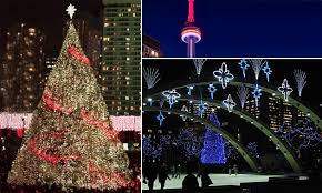 Twinkling Christmas Tree Lights Canada by Canada Lights Up For Christmas Philips Lighting
