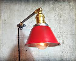 crafted adjustable articulating wall mount loft light