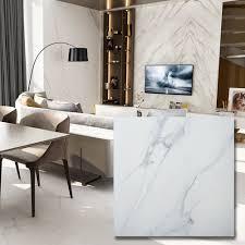 100 Marble Flooring Design China 600X600mm Luxury Bathroom S Honed Carrara Floor