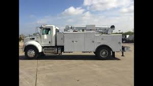 100 Mechanic Truck 2015 Peterbilt 337 Service Body 12k Lb Crane Compressor