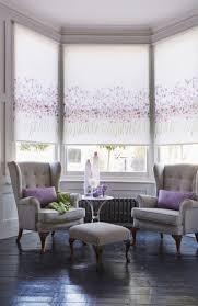 watercolour violet roller blind blinds for windows home