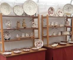11 Best POTTERY DISPLAY Images On Pinterest