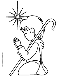 Christian Coloring Book Pages