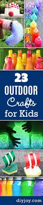 Fun Outdoor Crafts For Kids