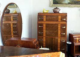 Waterfall Vanity Dresser Set by Antiquesq U0026a Newlywed Furniture
