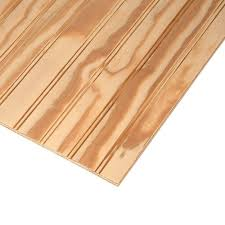 Styrofoam Ceiling Panels Home Depot by Ply Bead Plywood Siding Plybead Panel Common 11 32 In X 4 Ft X
