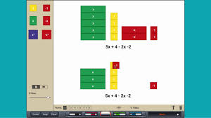 simplifying expressions with algebra tiles youtube