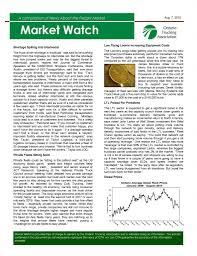 100 Ontario Trucking Association OTA Market Watch Newsletter The Rear View Mirror TRVM