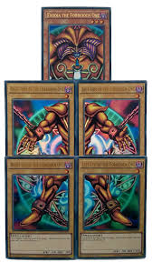 Exodia Deck Profile 2017 by Yu Gi Oh Exodia The Forbidden One Complete Five Card Set