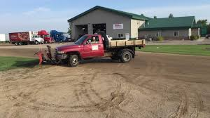 1999 Dodge Ram 3500 Flatbed Truck W/Snow Plow - YouTube Western Midweight Snow Plow Ajs Truck Trailer Center Trucks Plowing Snow The 1947 Present Chevrolet Gmc Mack Trucks For Sale In Pa 2005 Intertional 7600 Plow Dump Truck 426188 M35a2 2 12 Ton Cargo With And Spreader 1995 Ford F350 4x4 Powerstroke Diesel Mason Dump Plow 2009 Used 4x4 With Salt F Home By Meyer 80 In X 22 Residential History Mission Of Ciocca 2004 Mack Granite Cv712 1way Liquid For Sales Sale