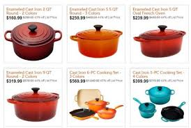 le creuset pots prices le creuset cookware starting at just 160 99 at woot today only