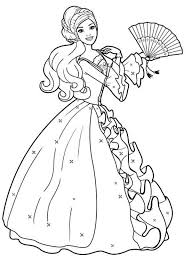 Barbie Coloring Pages Printable To Download Doll Book