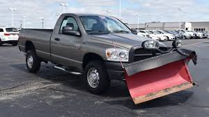 100 Truck With Snow Plow For Sale BOSS V 2009 Dodge Ram 2500 ST 29017AT