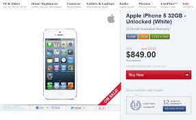 Kogan iPhone 5 Prices Go Up