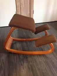 Balans Kneeling Chair Australia by 25 Off Sale Vintage Kneeling Chair Ergonomic Chair Teak Wood