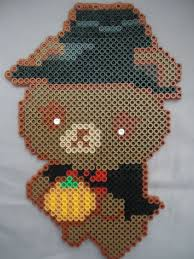 Halloween Perler Bead Templates by 258 Best Hama Halloween Images On Pinterest Hama Beads