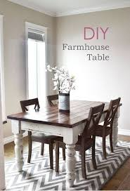 Beautiful Rustic Chic Dining Room Tables With Best 25 Ideas On Pinterest