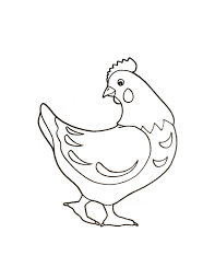 Flying Chicken Coloring Pages Hellokids Com Rooster And Hen