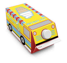 100 Toy Ice Cream Truck Box Play For Kids Stickers