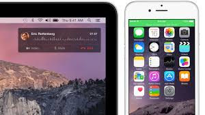 iPhone Calling Yosemite