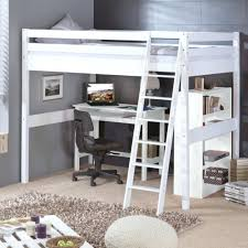 lit mezzanine 1 place avec bureau lit mezzanine 1 place whitewash high bed with slanting ladder bois