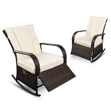 Amazon.com : YIKEEA Patio Rocking Chair Set Of 2 Outdoor PE Rattan ... How Does A Rocking Chair Benefit Your Health Curved Outdoor Polyteak Mesh Effect The Guapa Dnb Lounge By Midj In Italy 3 Benefits Of Art Van Blog Weve Got Look Chairs The Medical Benefits Decorative Piece Rockease Portable Rails Rustic Hickory 9slat Rocker Review Best Chairs Amazoncom Carousel Designs Pink And Gray Elephants Wood Omaha Shotton Woodworks Unique Handmade Flecked Xander World Market Article Surprising Health Rocking Chair Healthy Hints