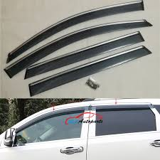 Door Side Window Visors Wind Deflector Molding Sun Rain Guards With ... Endearing Window Vent Visors Trucks For Modern Putco Element Chrome Sharptruckcom Egr Smline Inchannel Fast Shipping Firstgen Tacoma World How To Install Avs On A Gmc Sierra Youtube Tinted Chevy Colorado Canyon In Ikonmotsports 0608 3series E90 Pp Front Splitter Oe Painted Channel Page 2 Tapeon Mack Visor Rear Door Trims Exterior