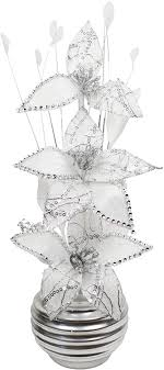 geschenk 32cm flourish kunstblumen im topf dekoration