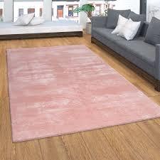 teppich kurzflor für wohnzimmer soft weich waschbar
