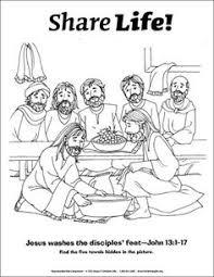 Beloved Blue Jesus Washes Their Feet Go Do The Same