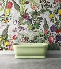 botanica wallpaper in 5 colourways by vito nesta