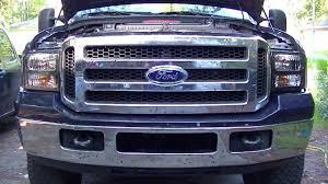 howto ford f250 duty harley davidson headlight install