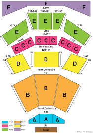 Wolf Trap Seating Chart Wolf Trap