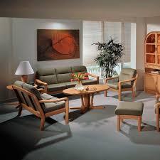 modernes sofa 1230a dyrlund stoff aus buche 2 personen