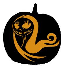 Nightmare Before Christmas Pumpkin Template by Sally Pumpkin Halloweenie Pinterest Sally