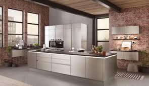 design einbauküche norina 4808 stahlgebuerstet