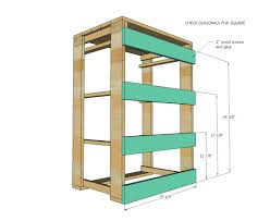 Sterilite 4 Shelf Cabinet by Ana White Pallet Laundry Basket Dresser By Pallirondack Diy